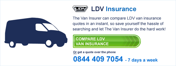 Compare LDV Van Insurance