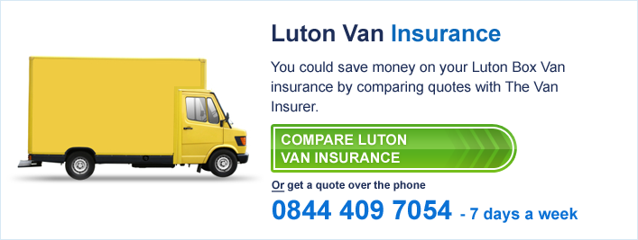 luton box van insurance