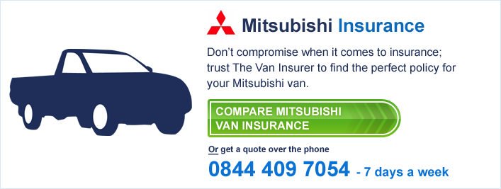 Compare Mitsubishi Van Insurance