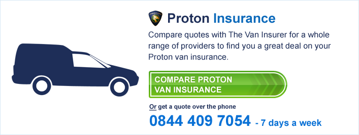 Compare Proton Van Insurance