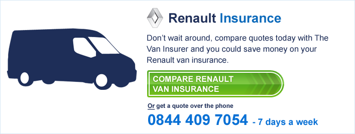 Compare Renault Van Insurance
