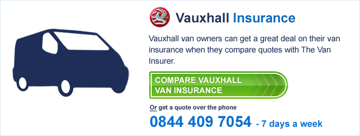 Compare Vauxhall Van Insurance