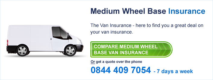 medium wheel base van insurance