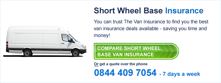 short wheel base van insurance