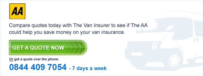 the aa van insurance