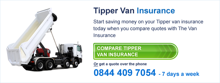 tipper van insurance