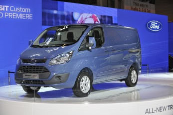 World's first for Ford Transit Custom