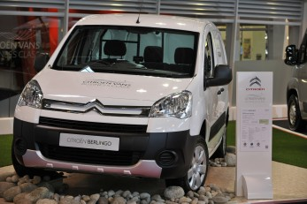 The Berlingo Electrique makes its UK debut