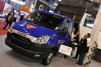 Iveco Daily is the van for Dyson Heating