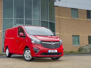 Vauxhall Vivaro named fleet van of the year