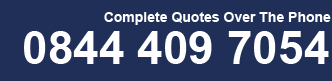 Complete Quotes Over The Phone - 0844 409 7054